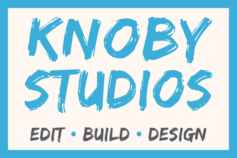 Knoby studio LOGO סטודיו נובי לוגו
