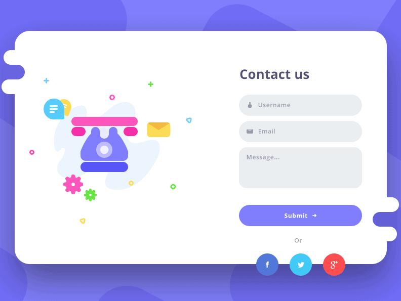 דף ליצירת קשר באתר לעסק - מעולה כדי לגייס לקוחות חדשים